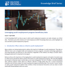Knowledge Brief Issue 4