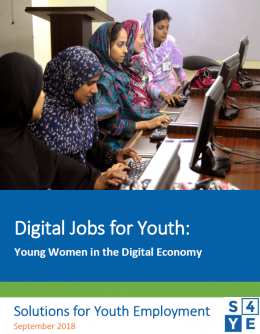 Digital Jobs for Youth: Young Women in the Digital Economy