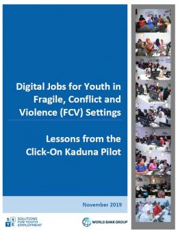 Digital Jobs for Youth in FCV Settings: Lessons from the Click-On Kaduna Pilot