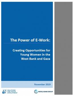 The Power of E-Work: Creating Opportunities for Young Women in the West Bank and Gaza