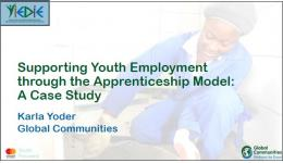 Apprenticeships in Ghana: Insights From Two Perspectives Webinar