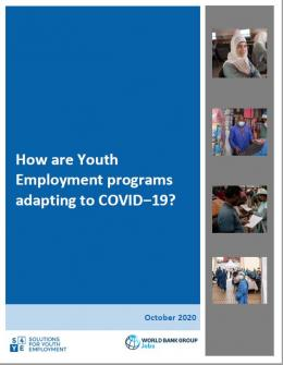 How are Youth Employment programs adapting to COVID‒19?