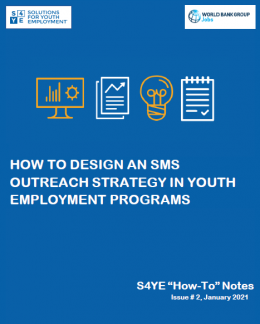 How To Design An SMS Outreach Strategy In Youth Employment Programs